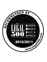 The Legal 500, Leading Firm in 2010 and 2011